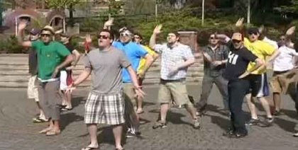 Талантливые ребята On The Rocks перепели Bad Romance