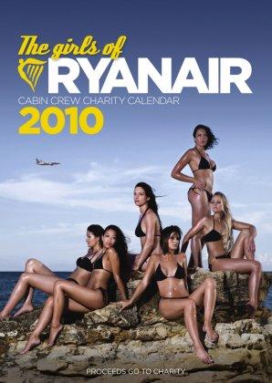 Стюардессы разделись для календаря Ryanair 2010