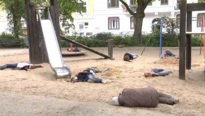 Флешмоб в Швейцарии: химическая война