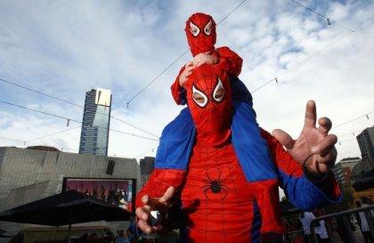 Флешмоб для супер-героев