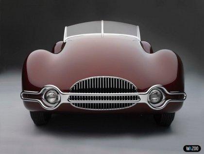 Восстановленный Buick Streamliner 1949
