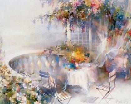 Воздушная живопись Willem Haenraets