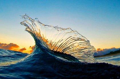 Красивые фотографии волн