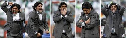 Эмоции Диего Марадоны