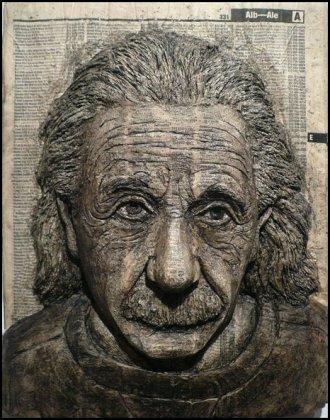 Портреты из телефонных справочников от художника Alex Queral