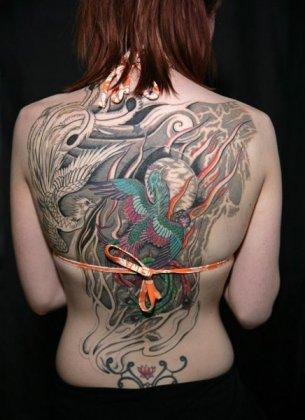 Выставка тату в Англии