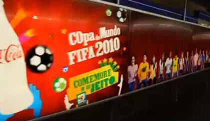 16-метровый билборд Coca-Cola