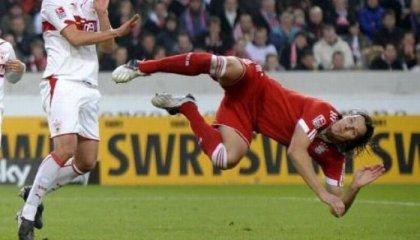 Фотожаба: баварский футболист Даниэль Ван Бюйтен