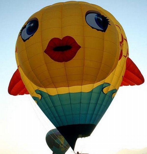 Прикольные картинки воздушные шары