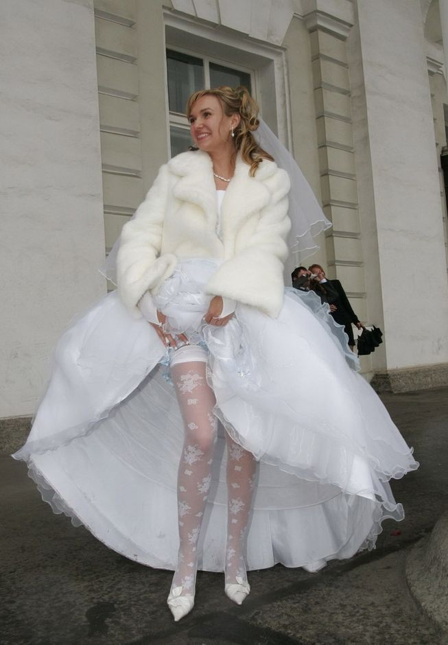 Невест любительское фото