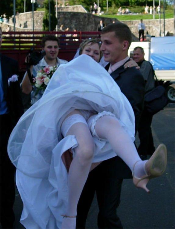 спалила трусики на свадьбе - 6