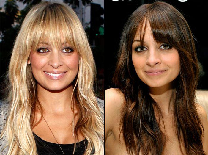 Изменить прическу и цвет волос на