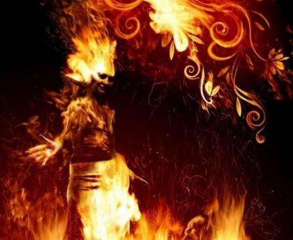 Огненная красота