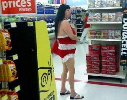Причудливые посетители супермаркетов