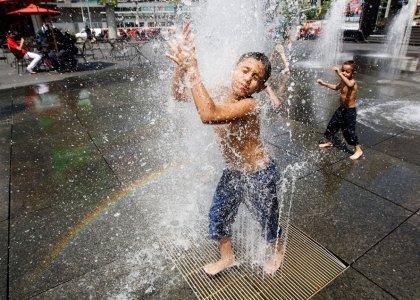 Лето, жара, водные процедуры :)