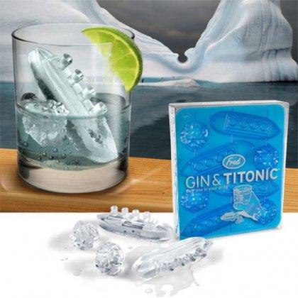 Креативный лед для коктейлей
