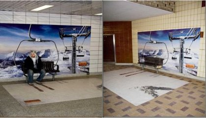 Креативная реклама в метро