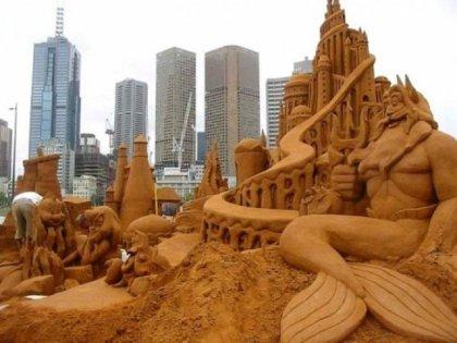 Скульптуры из песка. Часть 6