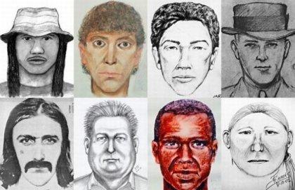 Фотороботы преступников и их фотографии