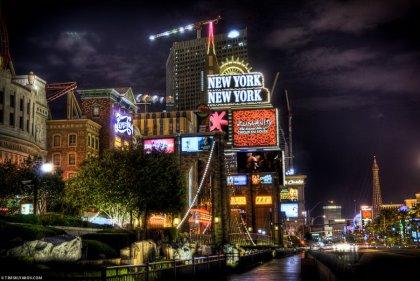 Las Vegas в HDR-качестве