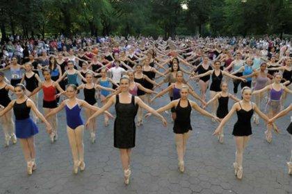 Мировой рекорд в балете