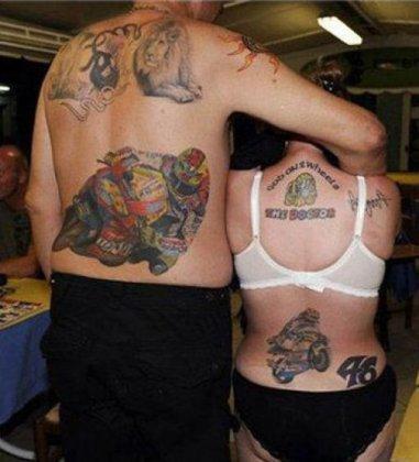 Экстремальные татуировки