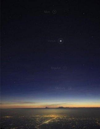 Скоро состоится Большой Парад планет - август 2010