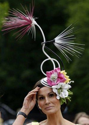 Необычные дамские шляпки Royal Ascot