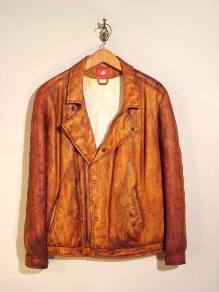 Одежда из дерева от Фрэйзера Смита