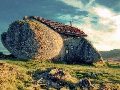 Дом из камней
