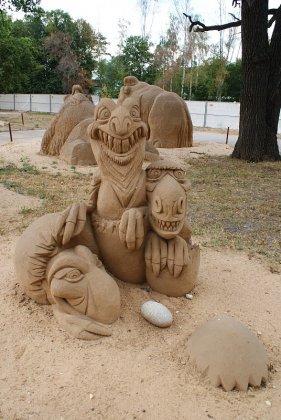 IX Международный фестиваль песчаных скульптур 2010
