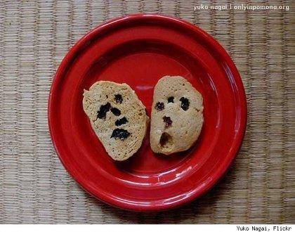 Еда с лицами