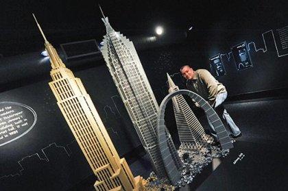 Небоскребы из LEGO