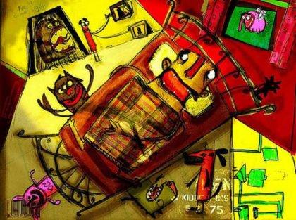 Сумасшедшие иллюстрации Khalid Hifzi