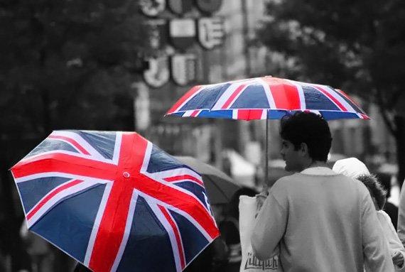 зонты с британским флагом - Сумки.