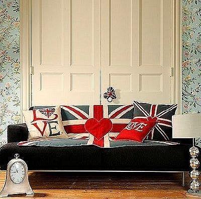 рисунок британский флаг