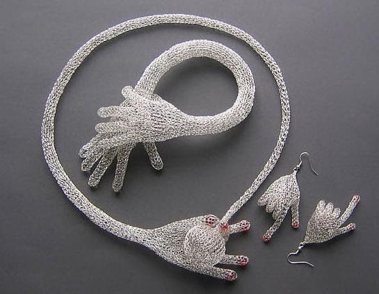 вязание спицами схема шали платки