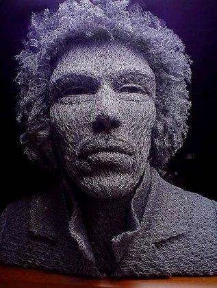 Скульптуры из проволоки от Ivan Lovatt