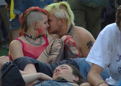 Влюбленные Панки