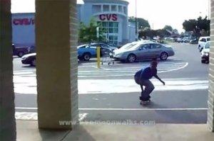 Видео скейтбордистов
