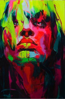 Портреты в стиле граффити от Nielly Francoise