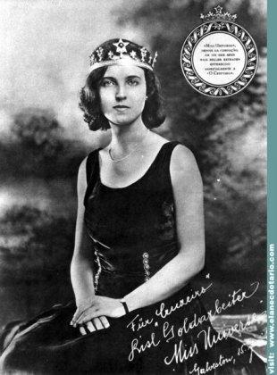 Первая европейская Мисс Вселенная