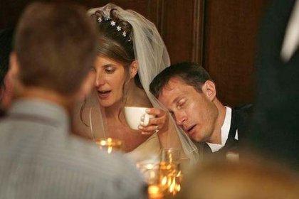 Eine Hochzeit ist wie eine Prüfung