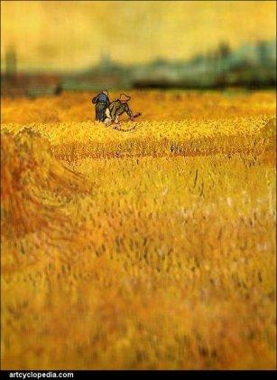 Tilt–Shift в картинах Ван Гога