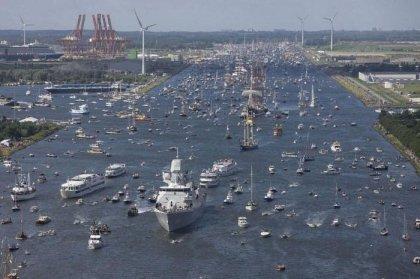 Парад кораблей Sail Amsterdam