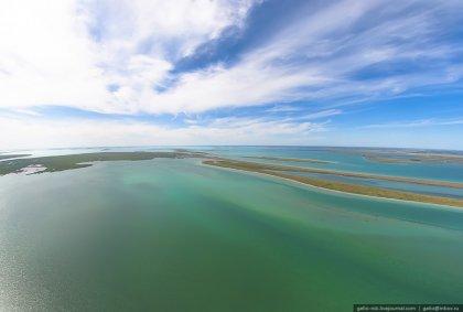 Озеро Чаны в Западной Сибири