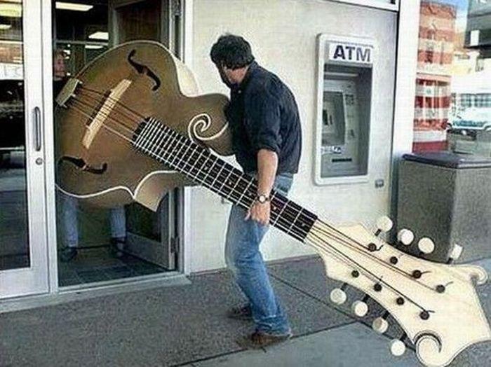 Прикольные картинки про гитаристов