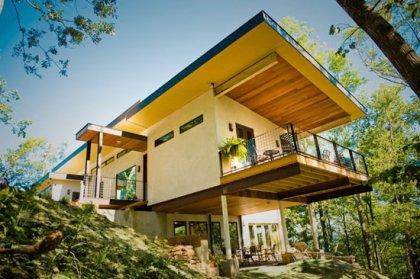 Дом из конопли в Северной Каролине