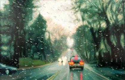 Красивые рисунки дождя от Gregory Thielker