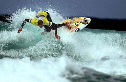 Серфингисты - повелители волн